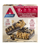 Atkins Protein Bars Chocolaty Chip Granola 5-Pack