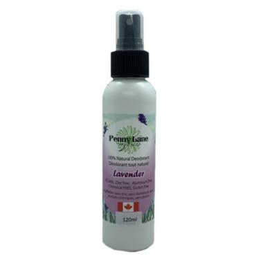 Penny Lane Organics Natural Spray Deodorant Lavender