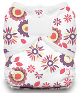Thirsties Duo Wrap Hook & Loop Diaper Alice Brights