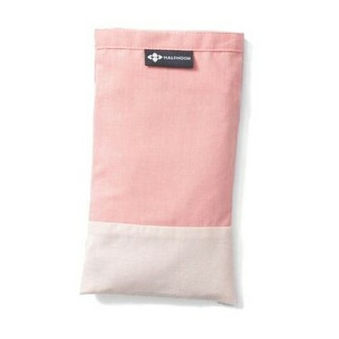 Halfmoon Cotton Eye Pillow Rose Quartz Lavender
