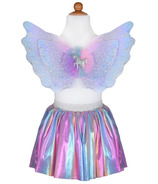 Great Pretenders Magical Unicorn Skirt & Wings Pastel Size 4-6