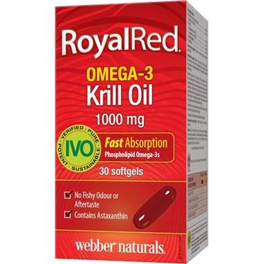 Webber Naturals RoyalRed Krill Oil