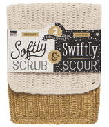 Now Designs Dishcloth Scrub & Scour Gold