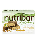 Nutribar High Protein Milk Chocolate Peanut Bars
