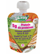 Baby Gourmet Coconut Chicken Curry and Rice Baby Food