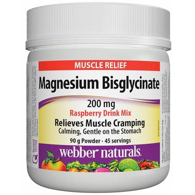 Webber Naturals Magnesium Bisglycinate 200 mg