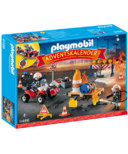 Playmobil Advent Calendar Advent Calendar Construction Site Fire