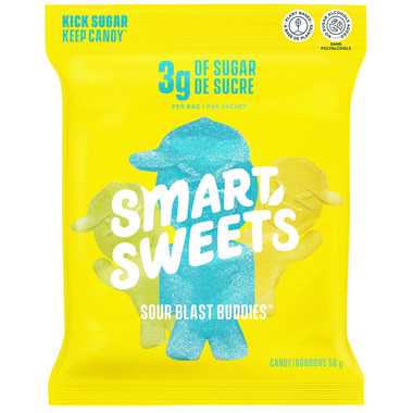 SmartSweets Sour Blast Buddies Pouch