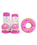Waddle Donut Rattle Socks & Teether Gift Set