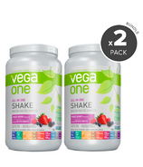 Vega One All-In-One Berry Nutritional Shake 2 Pack Bundle