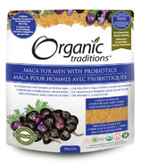 Organic Traditions Maca for Men with Probiotics
