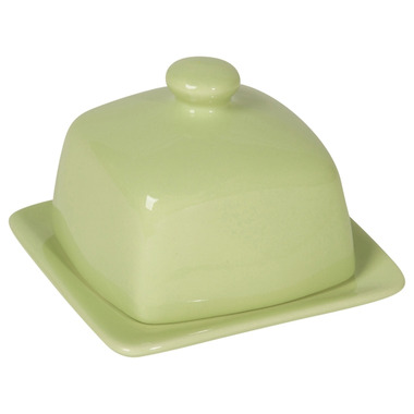 Now Designs Butter Dish Square Mint