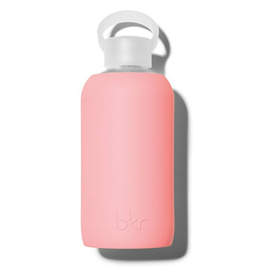 bkr Elle Glass Bottle Opaque Pastel Neon Coral