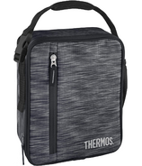 Thermos Upright Soft Lunch Box Black