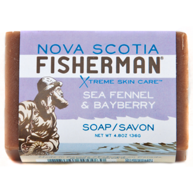 Nova Scotia Fisherman Sea Fennel & Bayberry Soap