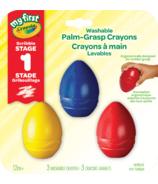 Crayola My First Palm Grasp Crayons de couleurs