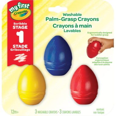 Crayola My First Palm Grasp Crayons