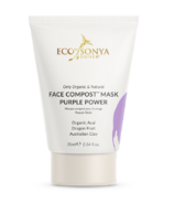 Eco Tan Face Compost Mask Purple Power