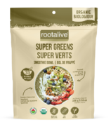 Rootalive Organic Super Greens Smoothie Bowl