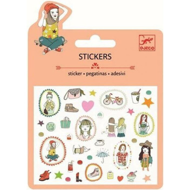 Djeco Mini Stickers Fashion