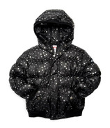Appaman Puffy Coat Silver Hearts