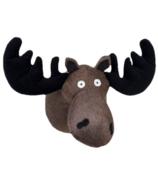 Little Blue House Stuffed Animal Head Moose