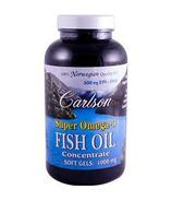 Carlson Super Omega 3 Fish Oil Concentrate