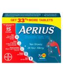 Aerius Allergy Desloratadine Tablets 5mg