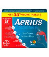Aerius Allergy Desloratadine Tablets 5mg