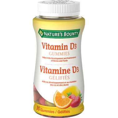 Nature\'s Bounty Vitamin D Gummies