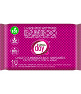 Genial Day Unscented Bamboo Wet Wipes
