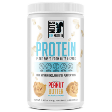 Nuts For Protein Peanut Butter