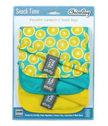 Chicobag Snack Time Sandwich Bags Lemon