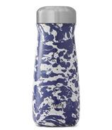S'well Traveler Stainless Steel Wide Mouth Bottle Enamel Blue