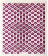 Ten & Co. Swedish Sponge Cloth Starburst Plum