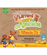 Hero Nutritionals Yummi Bears Organic Vitamin D3