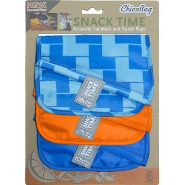ChicoBag Snack & Sandwich Bags Blue Ladder