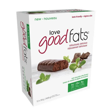 Love Good Fats Mint Chocolate Chip Bar Case
