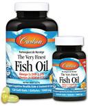 Carlson Very Finest Fish Oil Lemon Bonus Pack