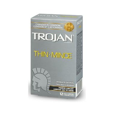 Trojan Thin Lubricated Condoms