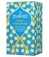 Pukka Three Camomile Tea