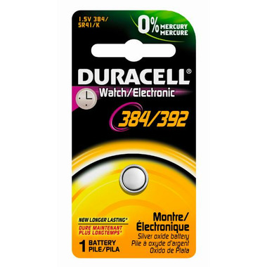 Duracell 384/392 1.5V Watch Battery
