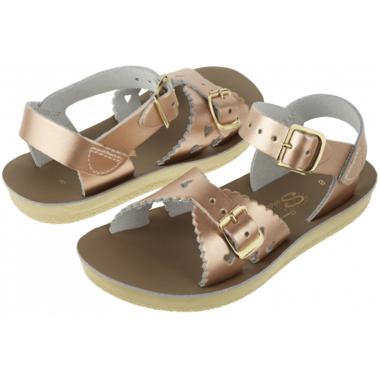 Salt Water Sandals Sweetheart Children\'s Sandal Rose Gold