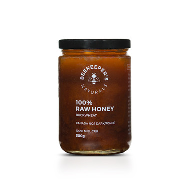 Beekeeper\'s Naturals 100% Raw Buckwheat Honey