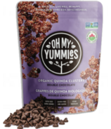 Oh My Yummies Organic Quinoa Clusters Double Chocolate