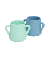 Wean Meister Sippy Skillz Mint and Teal Blue