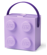 LEGO Box with Handle Lavender