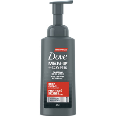 Dove Men+Care Deep Clean Foaming Body Wash