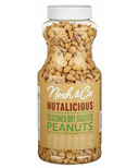 Nosh & Co. Nutalicious Seasoned Dry Roasted Peanuts