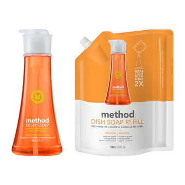 Method Clementine Disp Soap Bundle